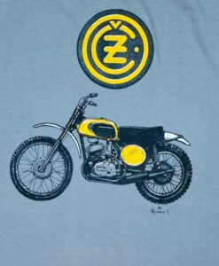 CZ motorcycle t shirt
