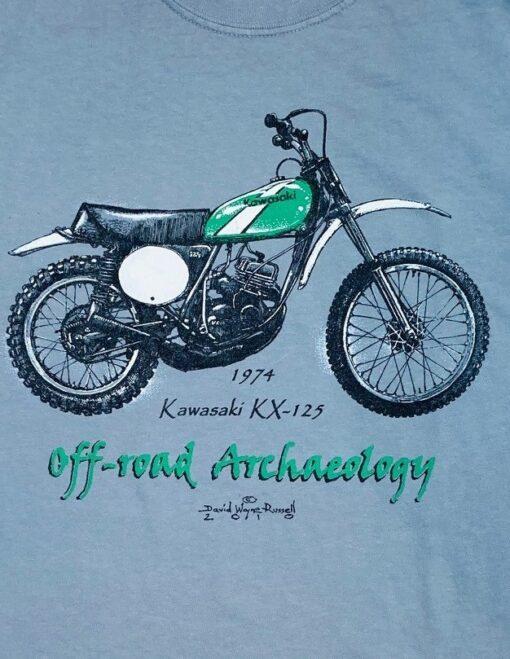 Kawasaki KX-125 t shirt