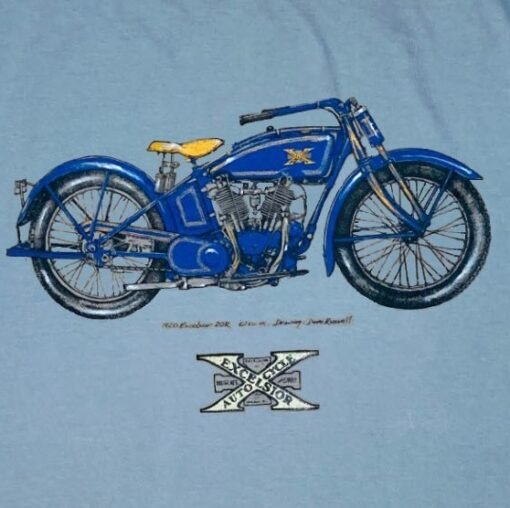 Excelsior T- shirt motorcycle