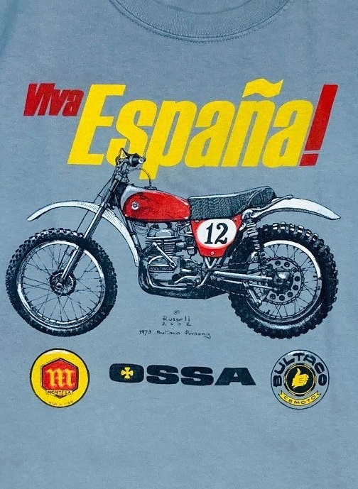 Bultaco Ossa Montessa t shirt