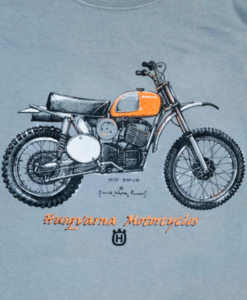 Husqvarna 400 CR t shirt