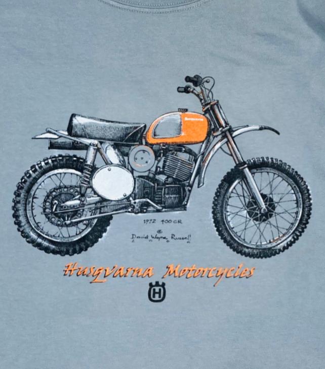 Husqvarna 400 CR t shirt