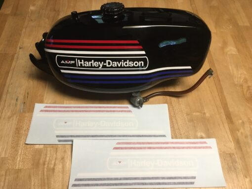 "Harley-Davidson ""Baja"" tank decals"