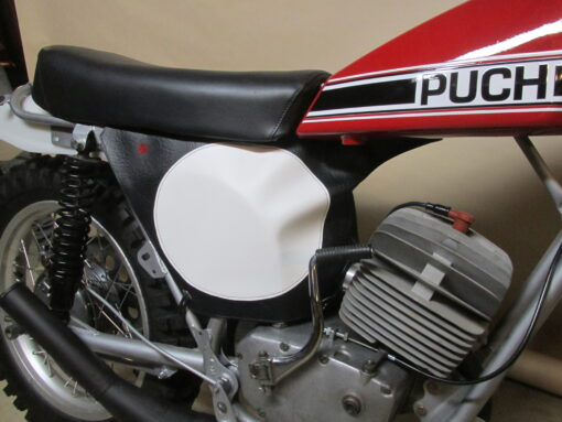 Puch Motorcycle leather racing shroud